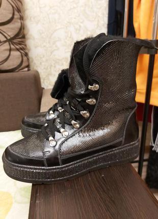 Суперские зимние ботинки