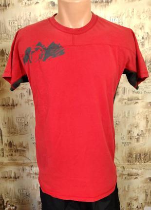 Оригинальая футболка mammut . m. состояние отличное