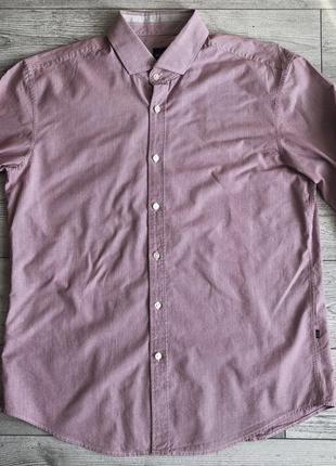 Сорочка\рубашка hugo boss mason_1 modern essential slim fit shirt
