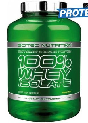 Изолят сывороточного протеина Scitec Nutrition 100% Whey Isola...