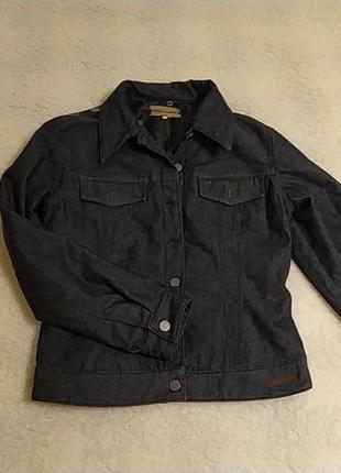 Стильная джинсовая куртка-пиджак италия