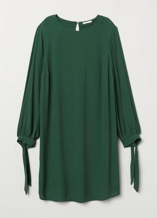 Платье h&m прямого кроя