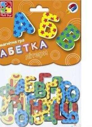 "Гр Игра настольная магнитная ""Абетка"" (укр) VT 5900-02 (20) ""V..."