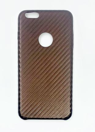 Чехол Carbon Leather Case для Iphone 6 Plus