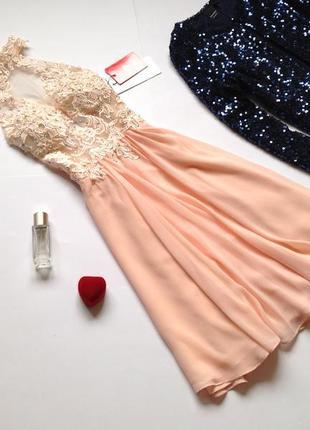 Вечернее новогоднее платье с открытой спиной jjshouse