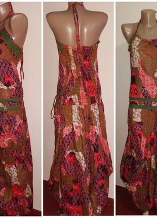 Стильный летний сарафан в стиле бохо,размер m/l