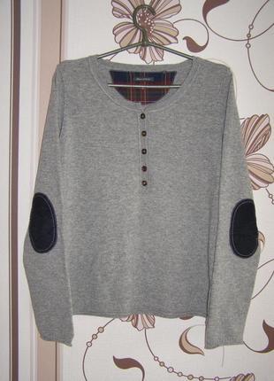 Marc o'polo шерстяной пуловер с добавлением кашемира , р.м