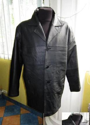 Классическая кожаная мужская куртка rover & lakes. лот 594