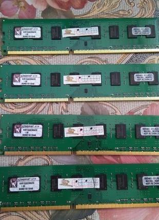 Память озу DDR3 Kingston 4x2gb 8gb 1333mhz KIT