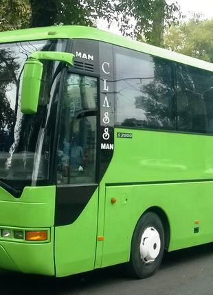 Заказ АВТОБУСОВ в Одессе. Аренда автобуса 50 мест.