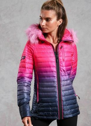 Superdry 2019-2020 куртка амбре м 12 46