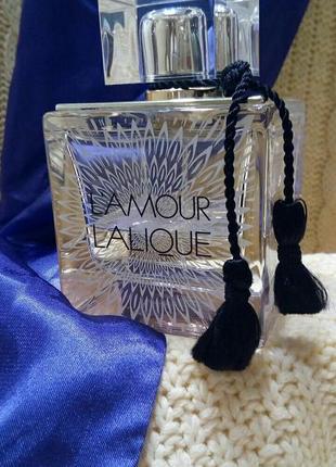 Парфюмированная вода lalique l'amour, пробник 5 мл