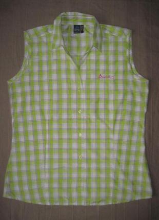 Odlo slim fit (l) треккинговая рубашка безрукавка жилетка женская