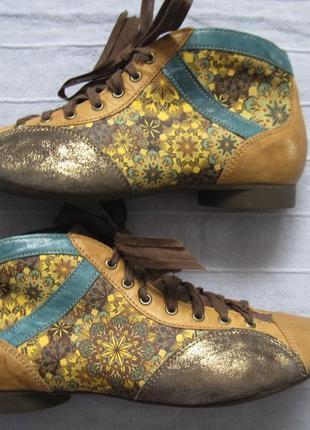 Think! guad 81288 (36) кожаные ботинки женские