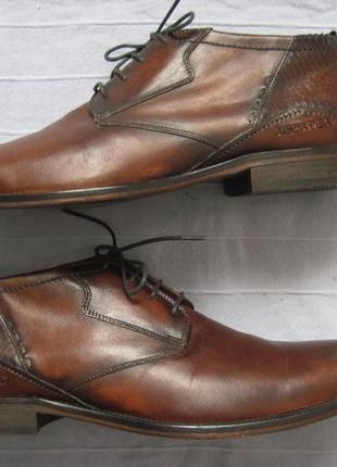 Daniel hechter (45) кожаные ботинки мужские