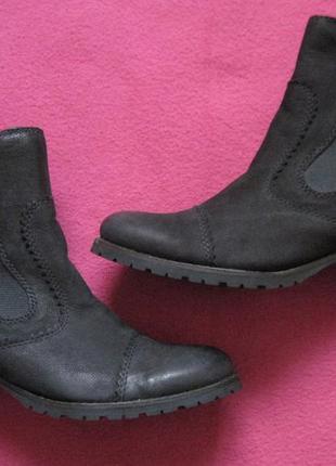 Roberto santi (36) кожаные ботинки женские деми