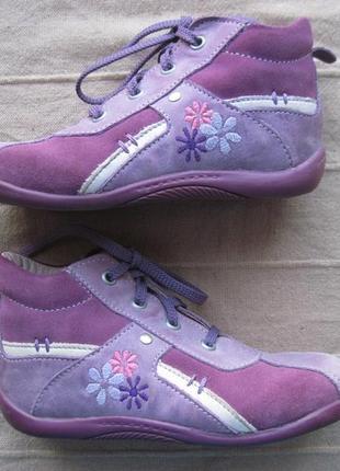 Daumling (24) кожаные ботинки детские деми