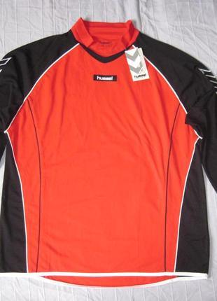 Hummel (xl) футбольный реглан кофта мужская