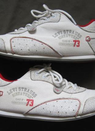 Levi strauss (38) текстильные кроссовки женские