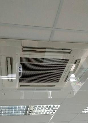 Экраны-отражатели для кондиционеров (дефлекторы)
