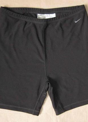 Nike dry-fit (l/12-14) эластичные шорты тайтсы женские