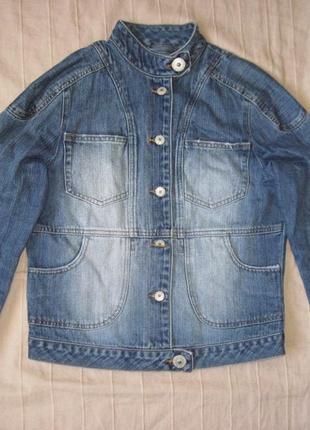 Kickers (s/38) джинсовая куртка женская
