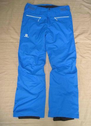 Salomon (м) сноубордические зимние штаны мужские