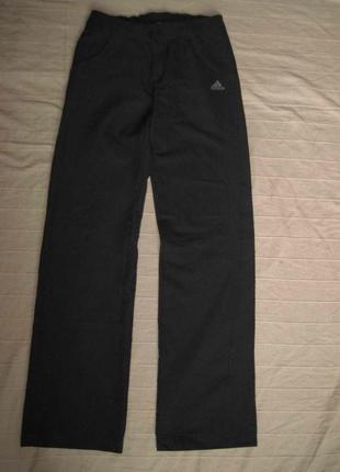 Adidas climalite (xs/34) спортивные штаны брюки женские