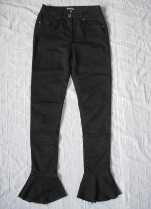 Parisian (xs/34) штаны джинсы скинни женские