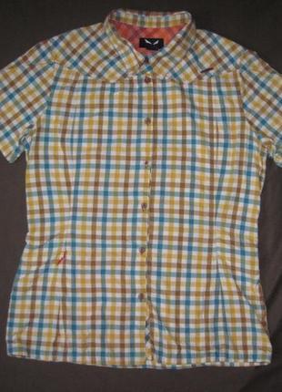 Salewa (l/44) треккинговая рубашка женская