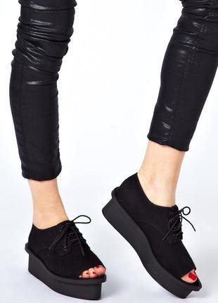Cheap monday form peep toe (36) летние туфли женские