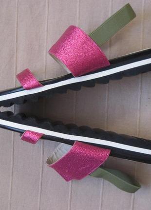 Kookai (39)кожаные сандалии женские