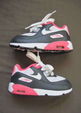 Nike air max 90 mesh (25) кроссовки детские