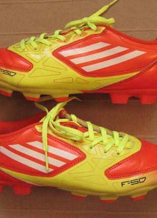 Adidas f5 trx fg j (37) бутсы копочки детские