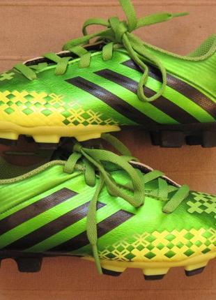 Adidas predito lz trx fg j (31) бутсы копочки детские