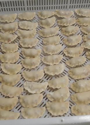 Вареники c грибами по 5кг. в ящике (ручной работы)