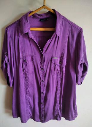 Рубашка натуральный шелк