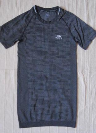 Kalenji (m) спортивная компрессионная футболка мужская