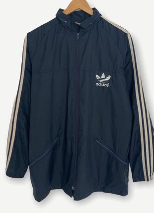 Винтажная ветровка adidas куртка дождевик оригинал мужской