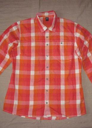 Haglofs (l) switcher (s) треккинговая рубашка женская