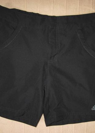 Adidas essentials climalite (s/36) спортивные шорты женские