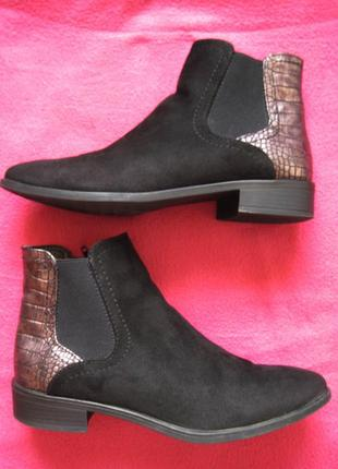 Graceland (38, 24,5 см) ботинки челси женские