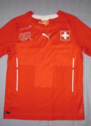 Puma dry cell (рост 140 см) футбольная форма футболка детская ...