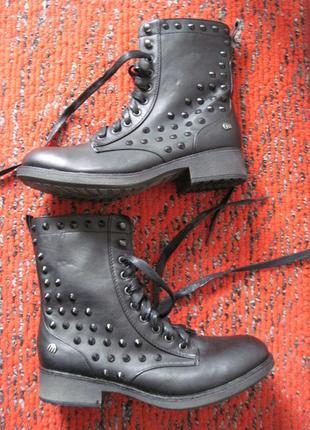 Новые mtng (38, 24,5 см, узкая) ботинки женские