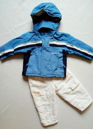 Лыжный костюм термо куртка и брюки impidimpi