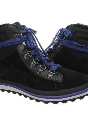 Женские зимние ботинки кроссовки puma city snow