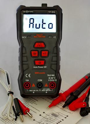 Мультиметр ударопрочный RICHMETERS RM113G Автомат МАГНИТ Новинка!