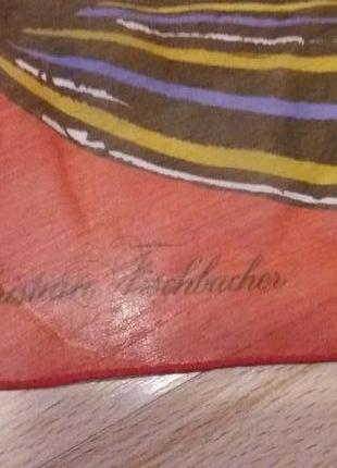 Фірмовий шовковий шарф