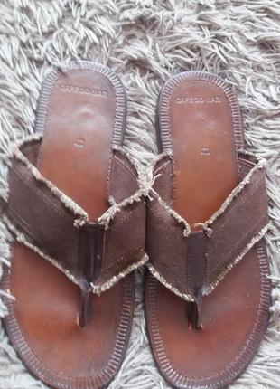Фірмові повністю шкіряні вєтнамки босоніжки