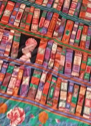 Вінтажний шовковий платок